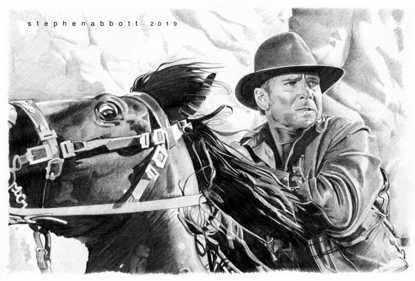 Harrison Ford by StephenAbbott